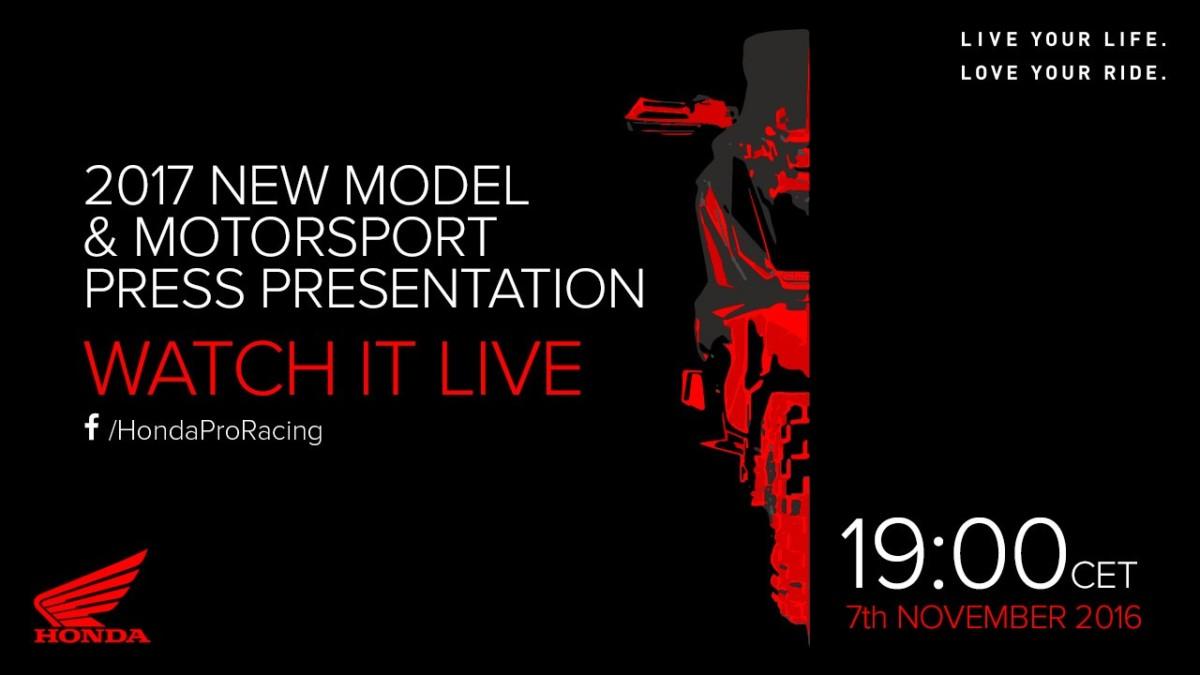 Oggi alle 19 le novità Honda live su Facebook
