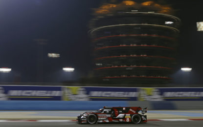 WEC: ultima pole per Audi in Bahrain