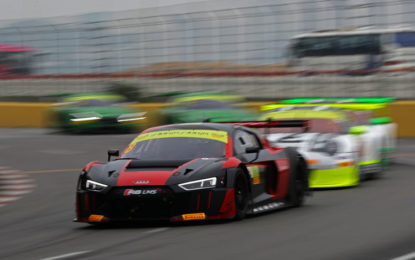 Audi wins FIA GT World Cup in Macau