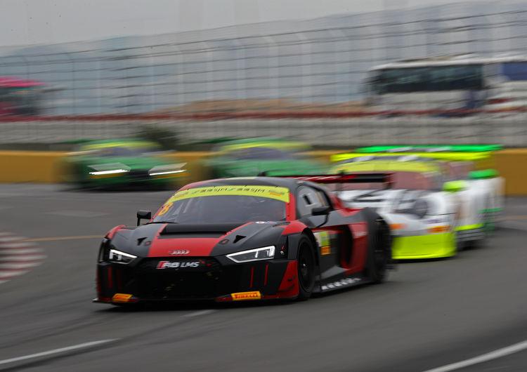 Audi wins FIA GT World Cup in Macau