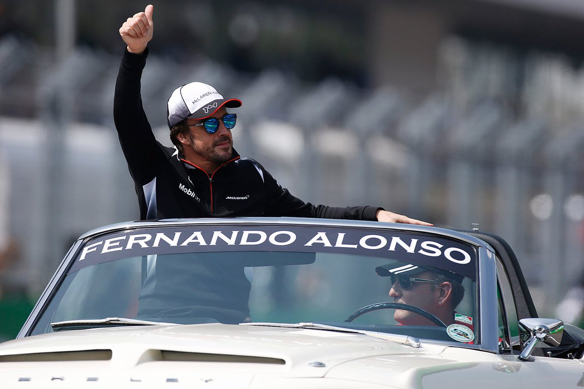 Alonso non vede l'ora di andare in vacanza…