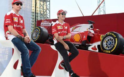 GP Brasile: il giovedì di Kimi e Sebastian