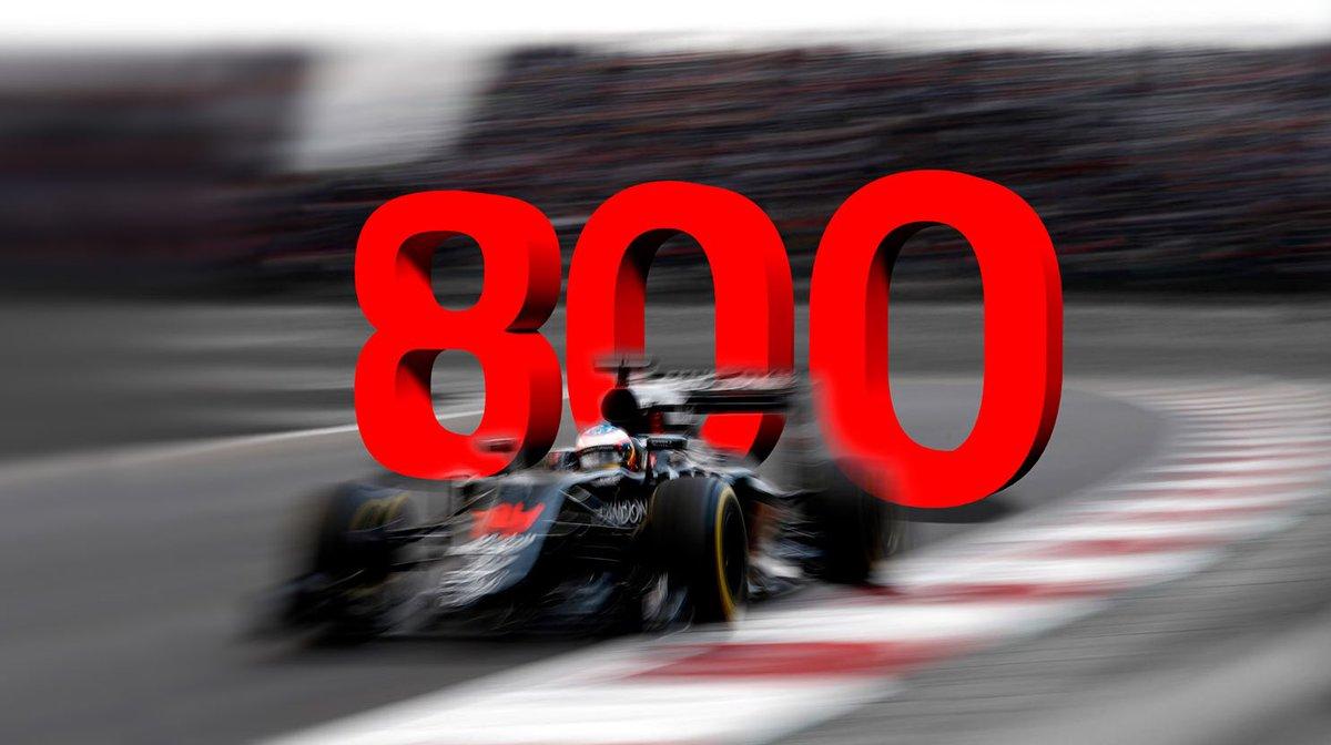 In Brasile 800 GP per la McLaren