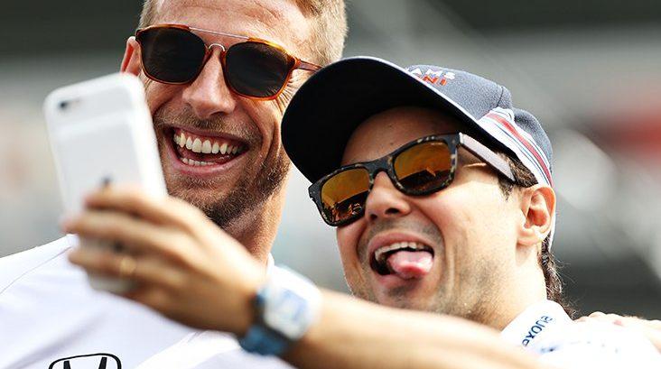 """Massa: """"Strano che Button non giri nei test in Bahrain"""""""
