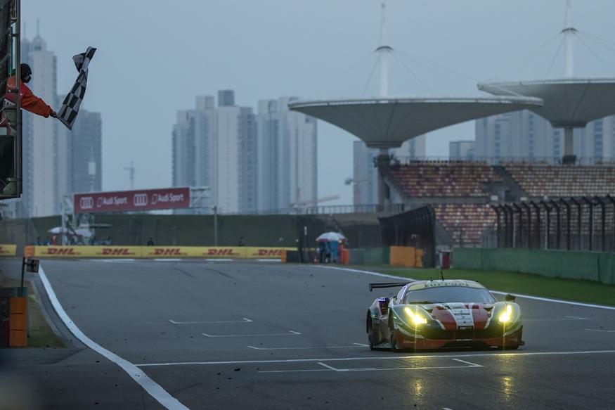 WEC: doppio podio Ferrari a Shanghai