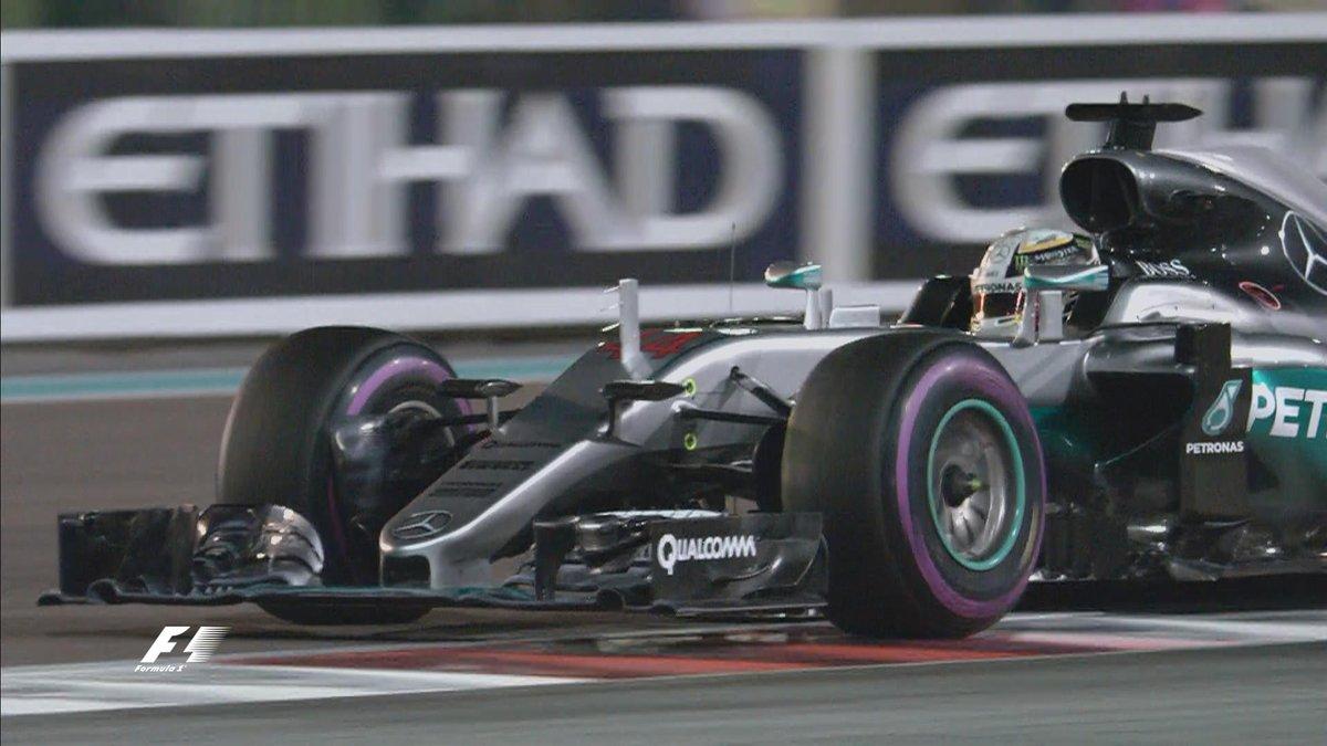 Abu Dhabi: primo round ad Hamilton con la pole