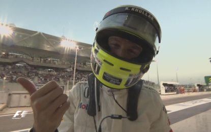 Jenson Button: 12 giri ma tante emozioni ad Abu Dhabi