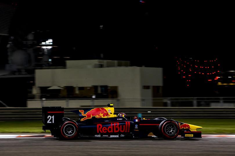 GP2: Gasly charges to Abu Dhabi pole