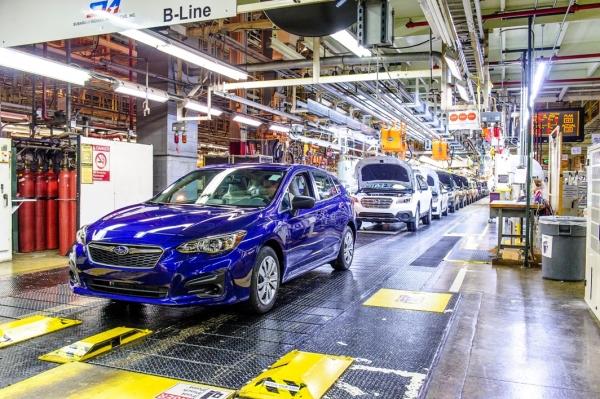 Prima Subaru Impreza 2017 prodotta negli USA