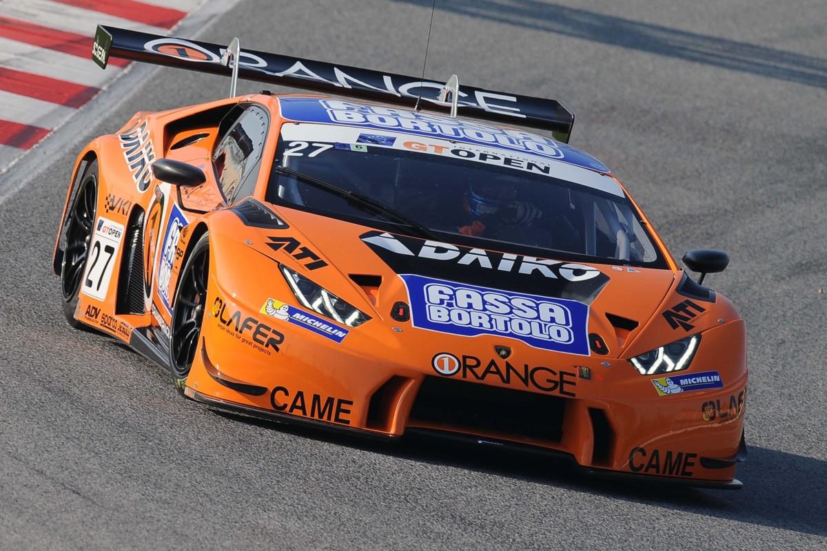 Lamborghini Huracàn GT3 campione GT Open