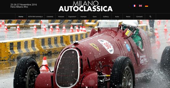 Auto storiche per Fondazione ANT