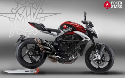 EICMA: PokerStars in sella a MV Agusta