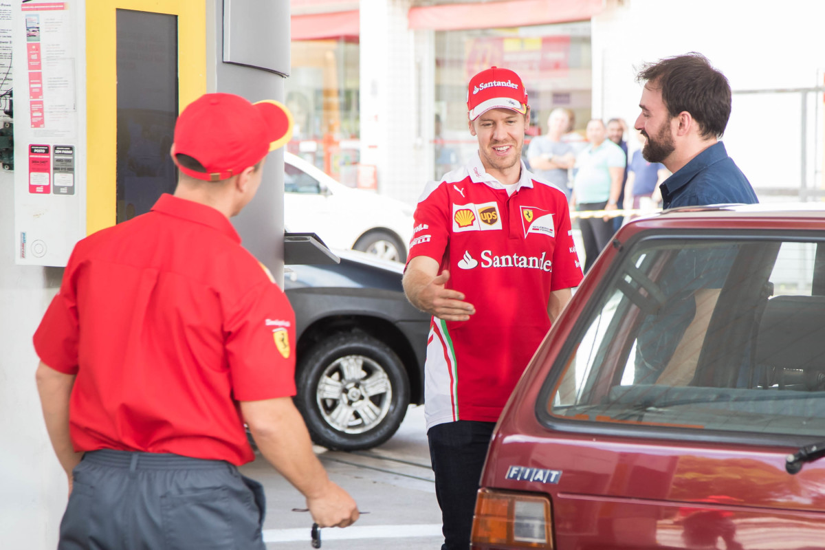 Vettel benzinaio a sorpresa a San Paolo