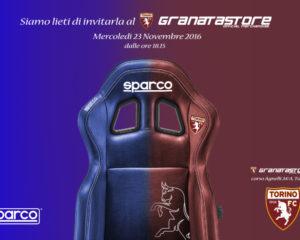 Domani grande evento Sparco-Torino FC