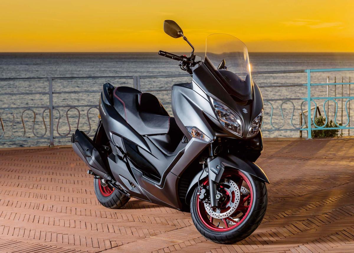 EICMA: Suzuki Burgman 400 ABS
