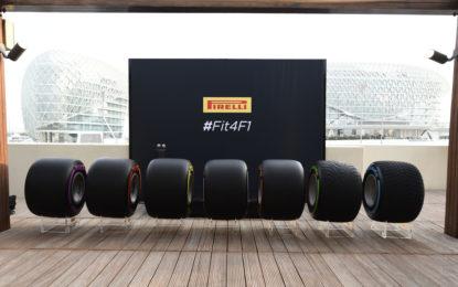 Abu Dhabi: Pirelli presenta l'intera gamma 2017