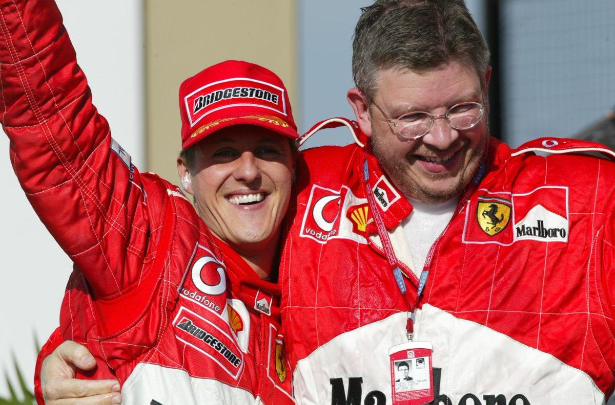"Ross Brawn: ""Per Schumacher segnali incoraggianti"""