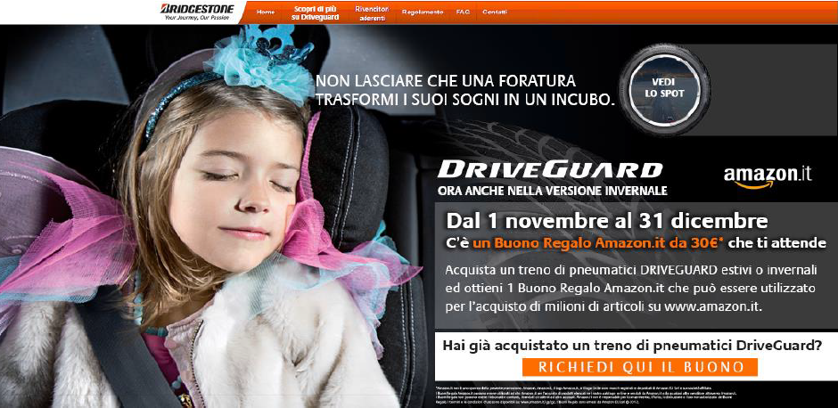 Bridgestone DriveGuard Winter: sicurezza e sorprese