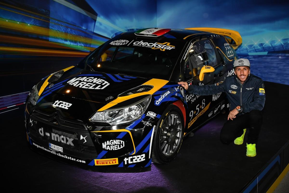 La Citroen DS3 WRC di Cairoli per il Monza Rally Show