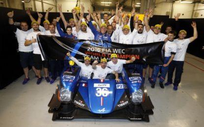WEC: Alpine vince i Titoli Piloti e Costruttori LMP2