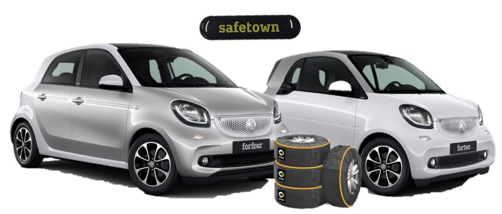 Nuove smart fortwo e forfour safetown