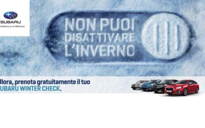 Subaru Winter Check 2016