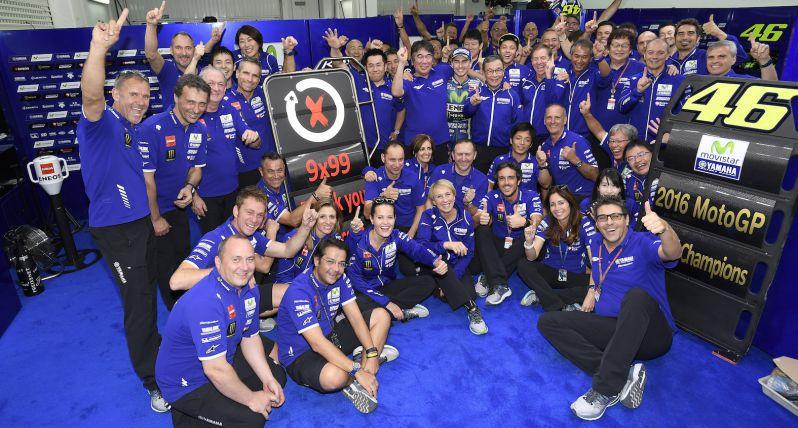MotoGP: Yamaha conquista il Titolo Costruttori 2016