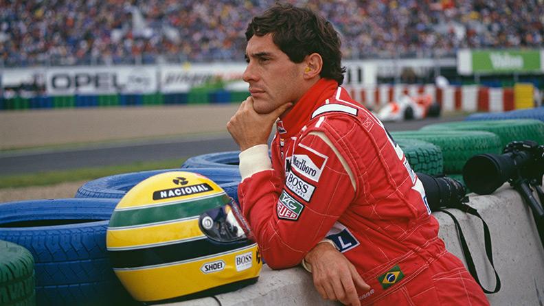 Ayrton Senna: una collezione privata all'asta