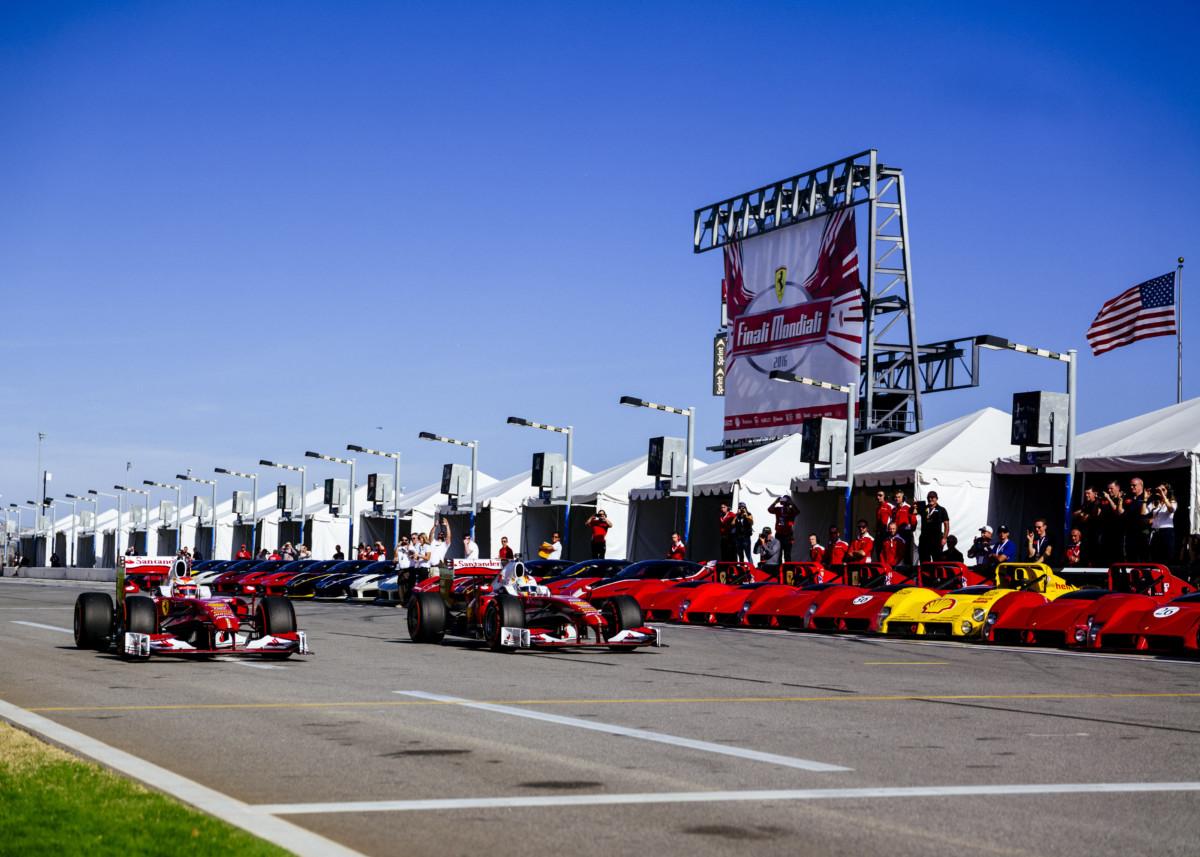 Vettel, Raikkonen e Arrivabene alle Finali Mondiali
