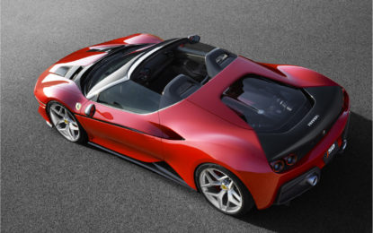 Ferrari svela la nuova J50
