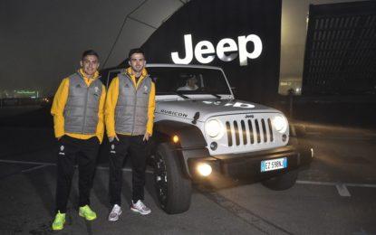 È festa al Motor Show con Dybala, Pjanic e Jeep