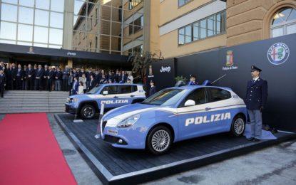 Nuova flotta Jeep e Alfa Romeo per la Polizia di Stato