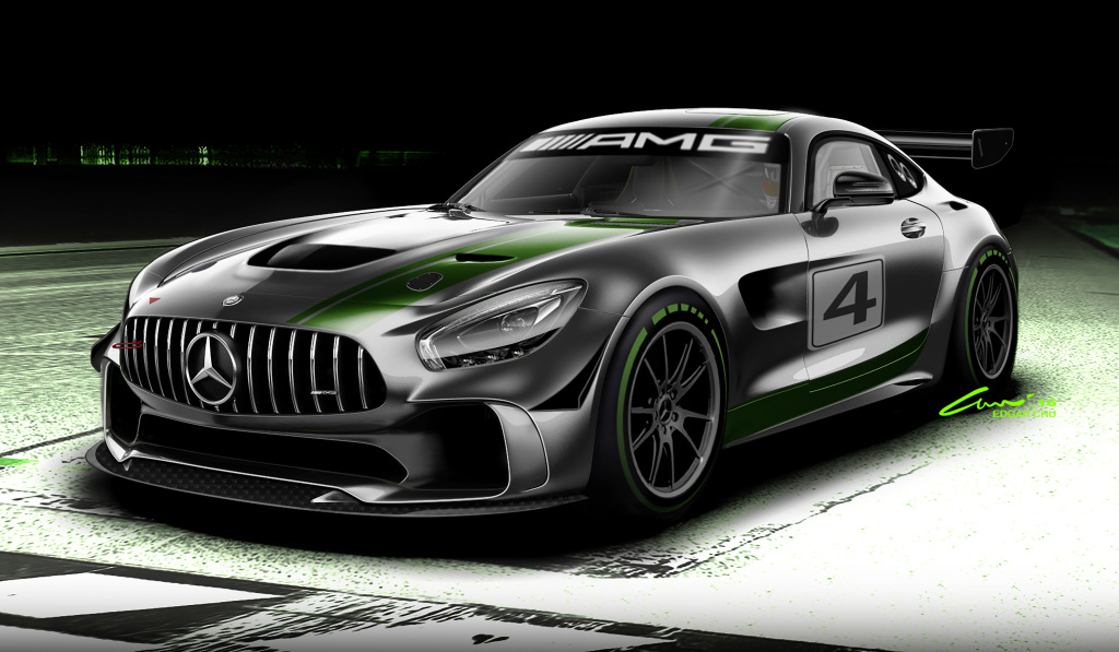 Mercedes-AMG developing a new GT4 race car