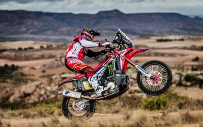 Termignoni per Honda CRF450 RALLY alla Dakar