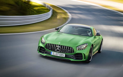 Mercedes-AMG GT R: record al Nürburgring