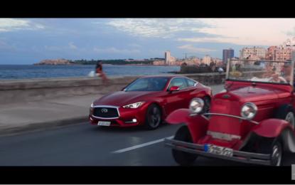 Infiniti Q60 a Cuba con Alfonso Albaisa