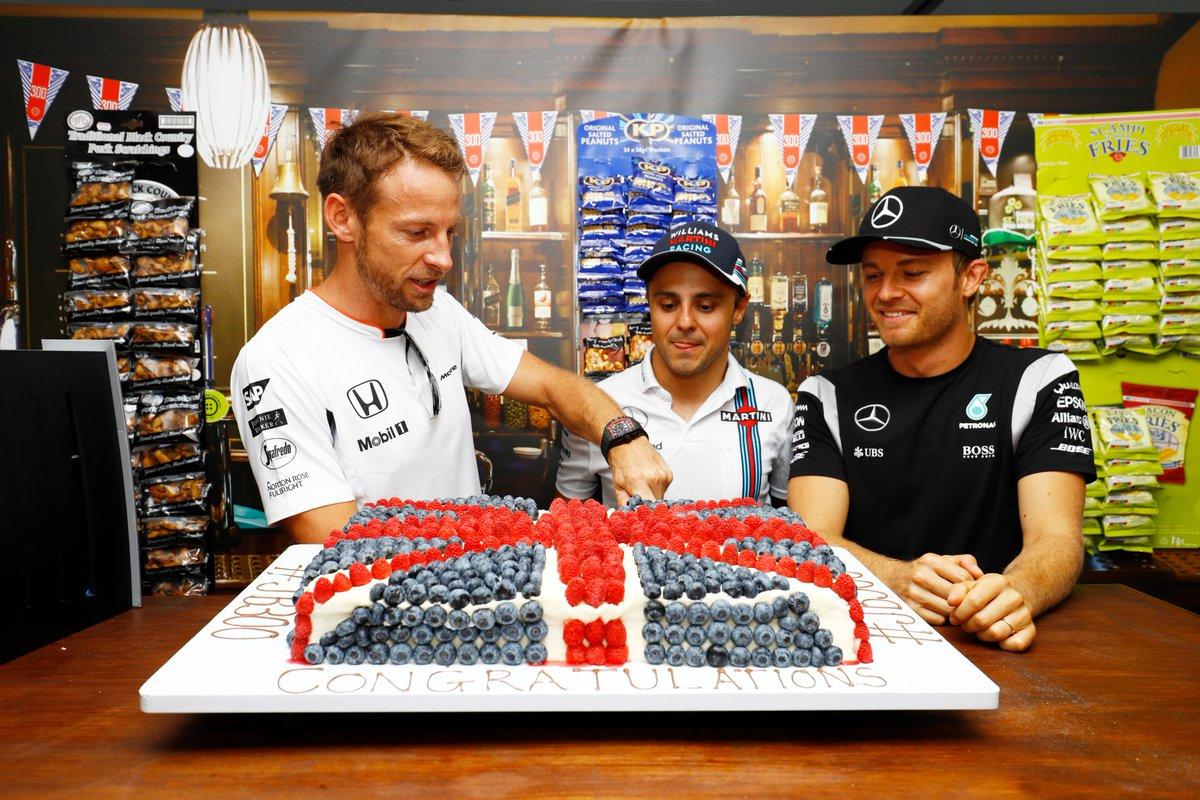 Ecclestone e il positivo nei ritiri di Rosberg, Button e Massa
