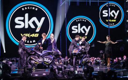 SKY RACING TEAM VR46 si svela alla finale di X FACTOR