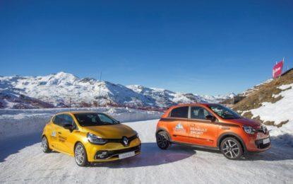 Partnership Renault e Ice Driving Val Thorens