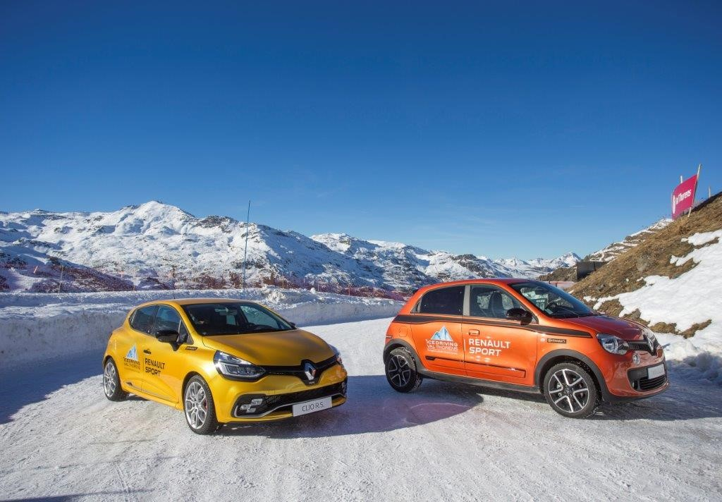 Partnership Renault e Ice Driving Val Thorens