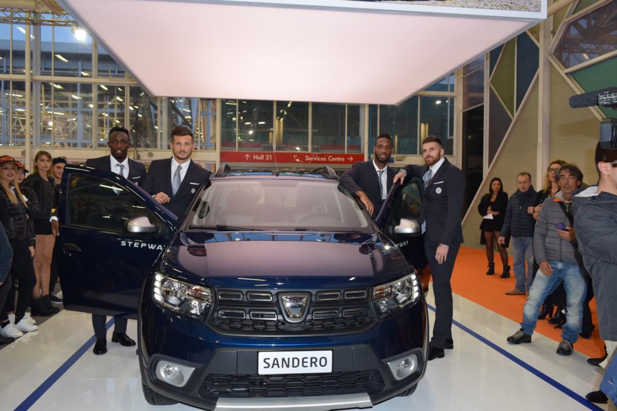Udinese Calcio al Motor Show con Dacia