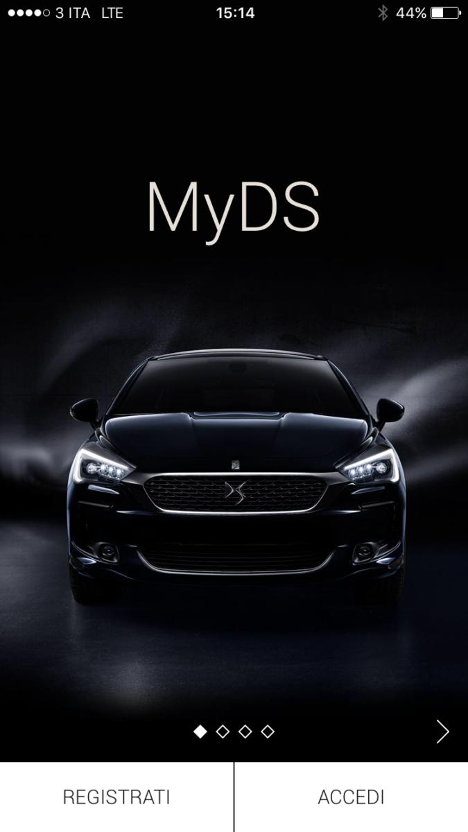 MyDS, l'app mobile per chi guida DS