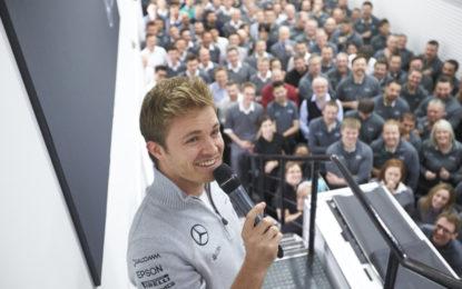 Nico Rosberg guarderà Melbourne dal divano. Dice…