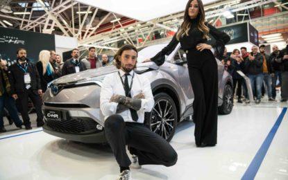 Brumotti e Palmas al Motor Show con Toyota