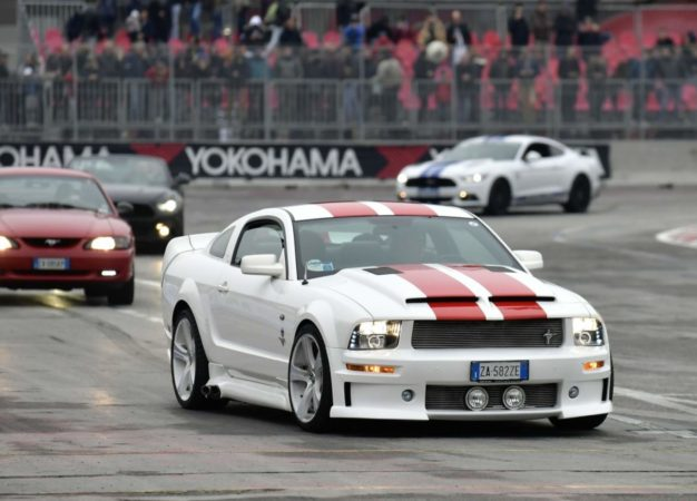 Le Mustang protagoniste nell'Area 48