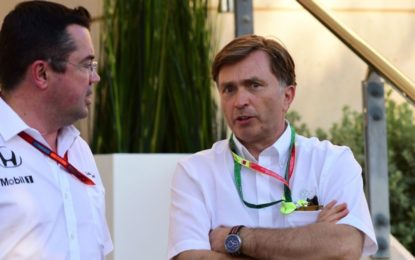 La McLaren conferma la partenza di Jost Capito