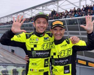 Monza Rally Show: doppietta di Valentino Rossi