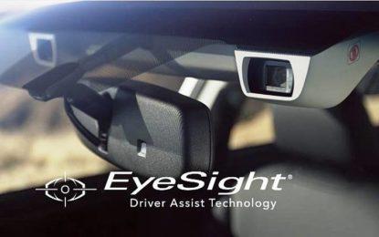 Subaru: un milione di vetture vendute con sistema EyeSight