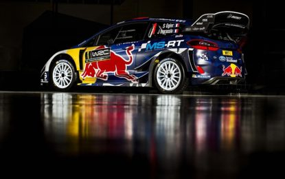 Anteprima livrea Ford Fiesta RS WRC di Ogier