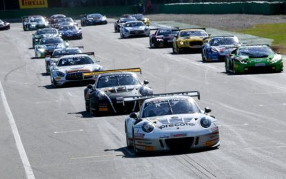 ADAC GT Masters 2017 with over 30 super sports cars